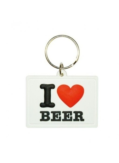 Pyramid International I Love Beer Soft 3D Anahtarlık Renkli